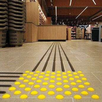 Bodenindikatoren nach Norm DIN 32984
