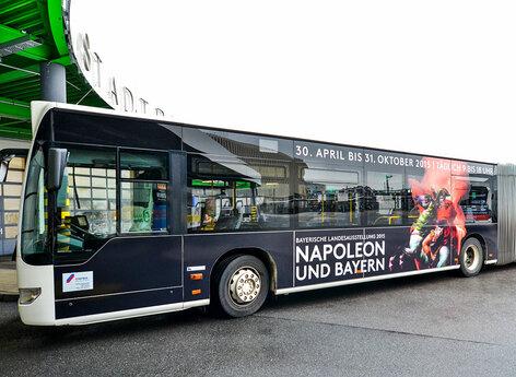 Beschriftung Stadtbus Ingolstadt