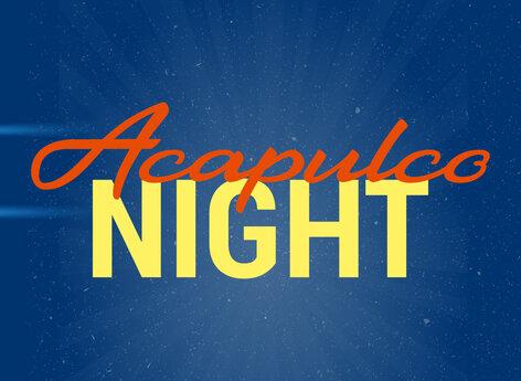 """Logo für die Rocknacht """"AcapulcoNight"""""""