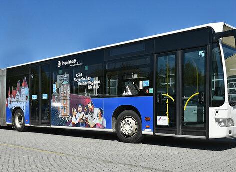 Qualitative Beschriftung für Bus