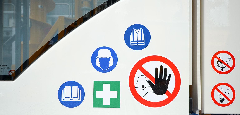 Verbotsschilder & Warnzeichen