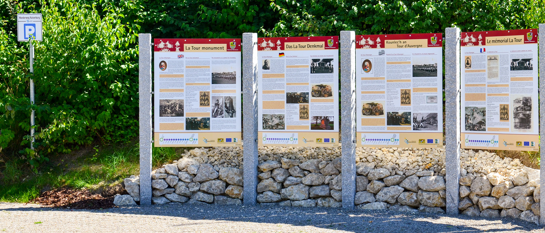 Leitsystem für Tourismus und Kultur