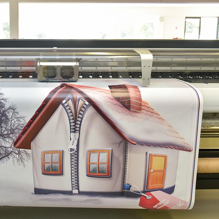Gerüstplane witterungsbeständigem Digitaldruck
