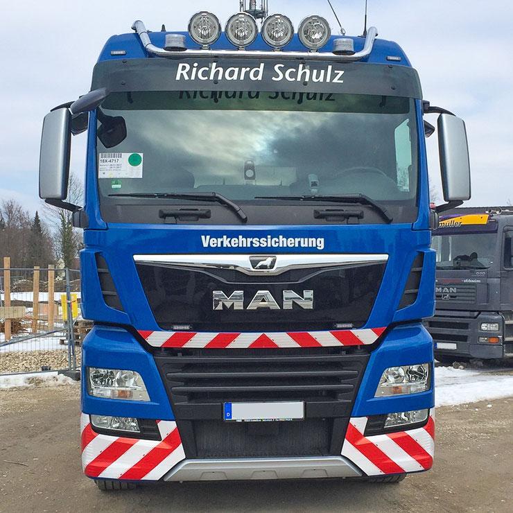 Warnmarkierungen nach DIN 30710 für PKW, LKW oder Transporter