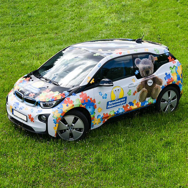 Beschriftung BMW i3