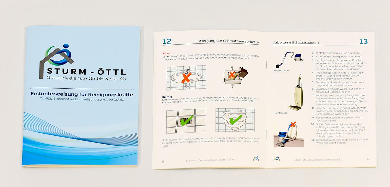 Broschüre DIN A5 incl. grafische Gestaltung