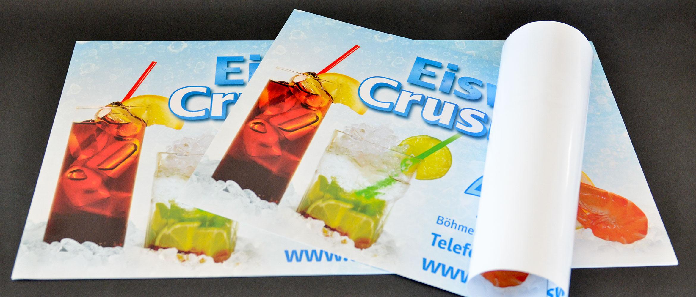 Plakate und Poster im Offset oder Digitaldruck
