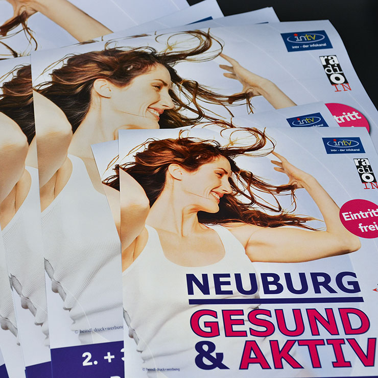 Plakate und Poster in DIN und Sonderformaten