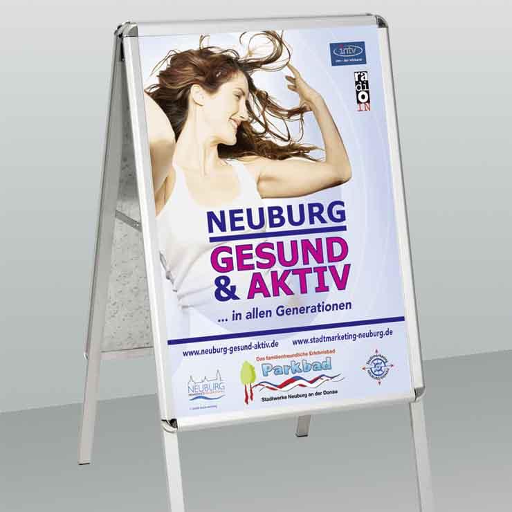 Plakatständer für DIN A1 Plakate