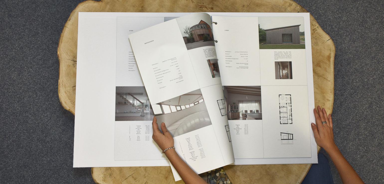 XXL-Präsentationsbuch für Ausstellung, Messen und Museen.