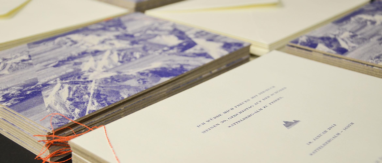 Hochwertige Drucksachen aus besonderen Papieren