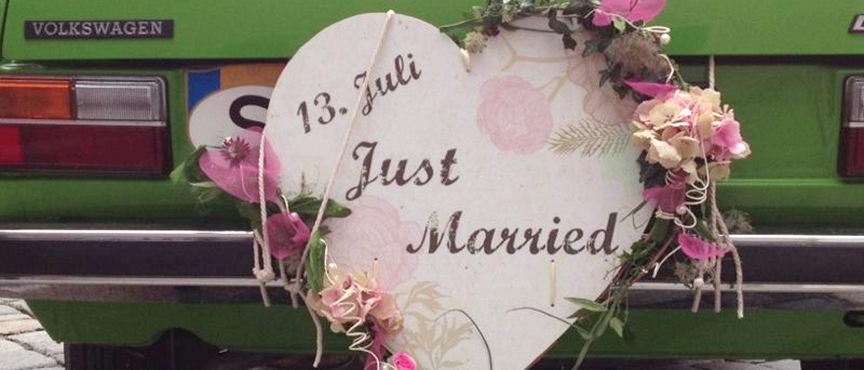 Besondere Geschenke zur Hochzeit