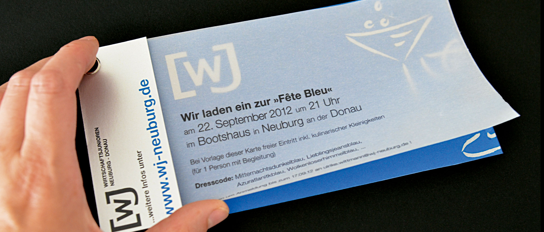 Premium Einladungskarten für Veranstaltungen