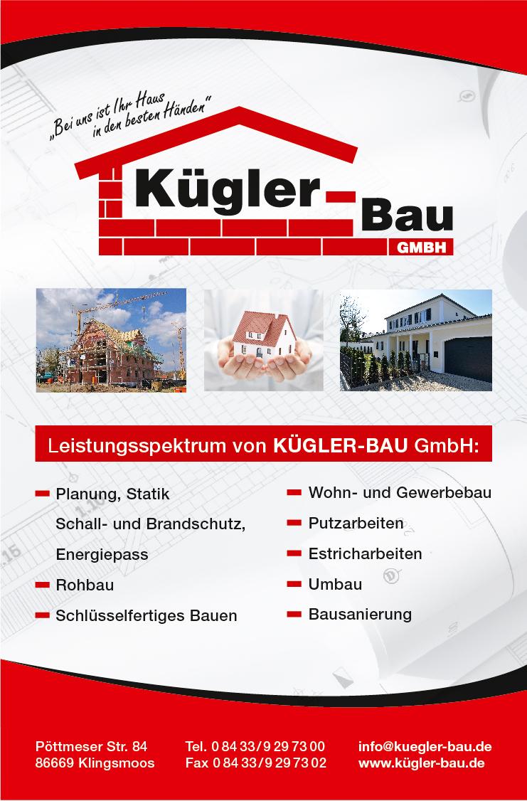 Inseratgestaltung für ein Bauunternehmen
