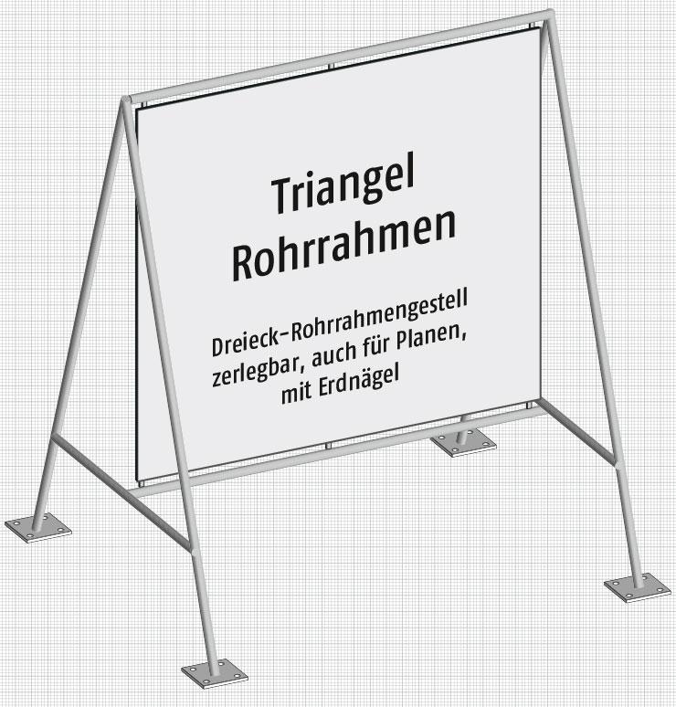 Triangel Rohrrahmen