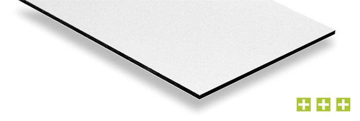 Aluverbundplatte - Platte mit Kunststoffkern und beidseitiger Aluminiumbeschichtung