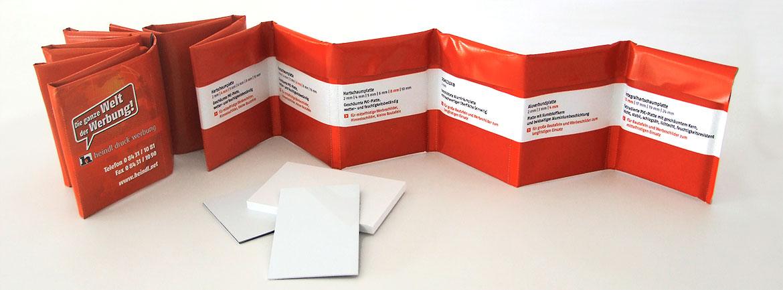 Materialmappe für Plattenmaterialien